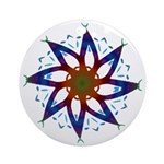 Whirling Star Keepsake (Round) 