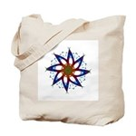 Whirling Star Tote Bag