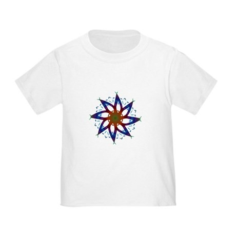 Whirling Star Toddler T-Shirt