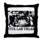 Old Las Vegas Nevada Throw Pillow