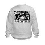 Old Las Vegas Nevada Kids Sweatshirt