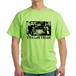 Old Las Vegas Nevada Green T-Shirt