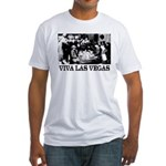 Old Las Vegas Nevada Fitted T-Shirt