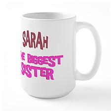 Sarah - The Biggest Sister Mug