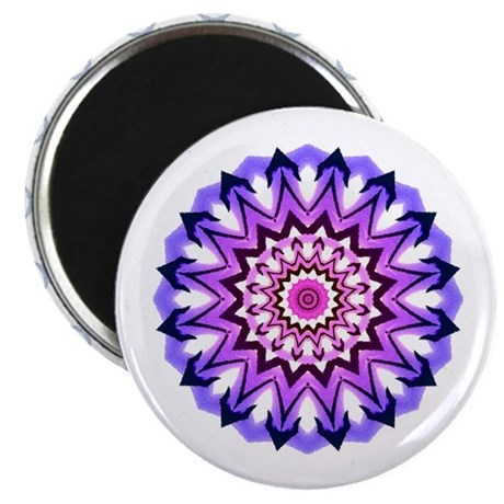 "Purple Sun 2.25"" Magnet (100 pack)"