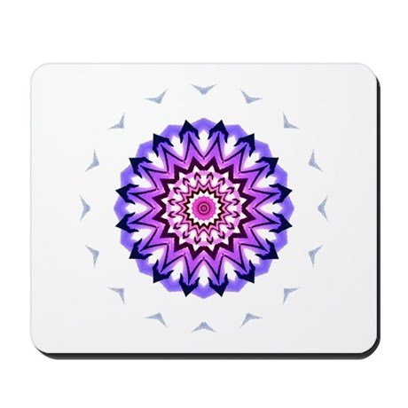 Purple Sun Mousepad