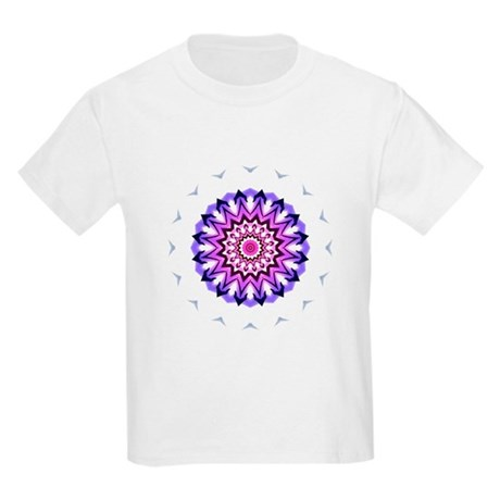 Purple Sun Kids T-Shirt