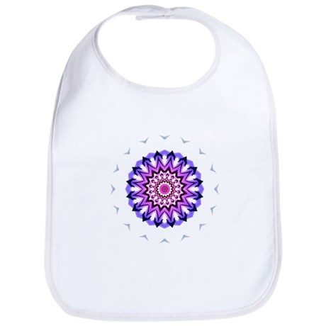Purple Sun Bib