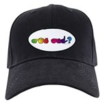 Got ASL? Rainbow Black Cap