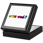 Got ASL? Rainbow Keepsake Box