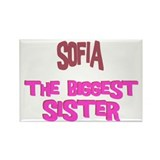 Sofia - The Biggest Sister Rectangle Magnet