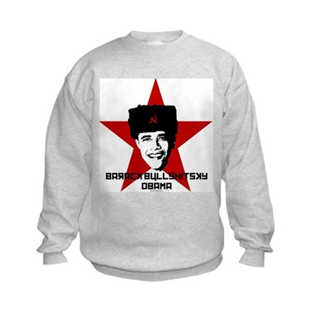 Barack Bullshitsky Obama Kids Sweatshirt