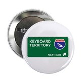 "Keyboard Territory 2.25"" Button (10 pack)"