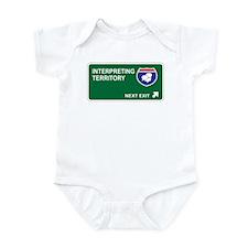Interpreting Territory Infant Bodysuit