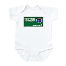 Insurance Territory Infant Bodysuit