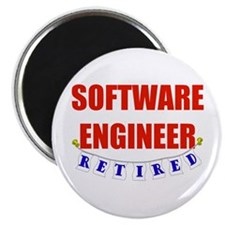 Retired Software Engineer Magnet