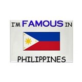 I'd Famous In PHILIPPINES Rectangle Magnet