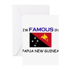 I'd Famous In PAPUA NEW GUINEA Greeting Cards (Pk