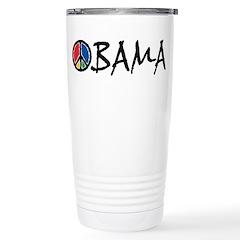 Obama Peace Ceramic Travel Mug