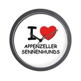 I love APPENZELLER SENNENHUNDS Wall Clock