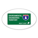 Environmental, Engineering Territory Decal