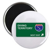 "Diving Territory 2.25"" Magnet (100 pack)"