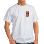 Masonic Lite one Ash Grey T-Shirt