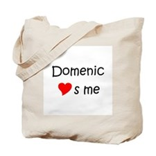 Love domenic Tote Bag