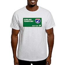 Curling Territory T-Shirt