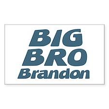 Big Bro Brandon Rectangle Decal