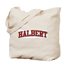 HALBERT Design Tote Bag