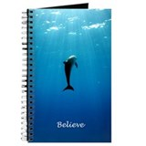 Cute Spotted dolphins Journal