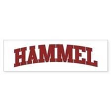 HAMMEL Design Bumper Bumper Sticker
