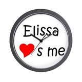 Elissa Wall Clock