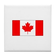 Canadian Tile Coaster
