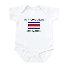 I'd Famous In COSTA RICO Infant Bodysuit
