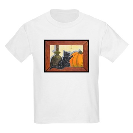 (Kids) Halloween Cat Kids T-Shirt