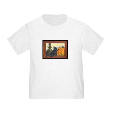 Halloween Cat Toddler T-Shirt