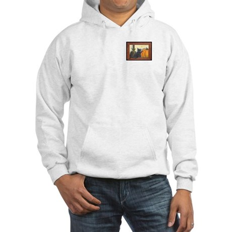 Halloween Cat Hooded Sweatshirt