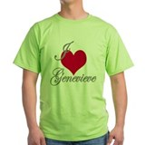 I love (heart) Genevieve T-Shirt