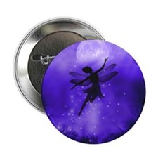 "Faery Flight 2.25"" Button"