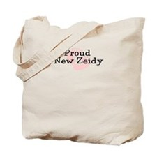 Proud New Zeidy G Tote Bag