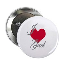 "I love (heart) Gael 2.25"" Button"