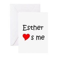 Cool Esther Greeting Cards (Pk of 20)