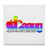 Cute Haaug Tile Coaster