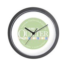 I am a Quilter Wall Clock