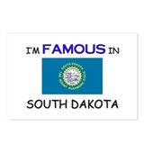 I'd Famous In SOUTH DAKOTA Postcards (Package of 8