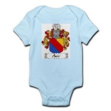 Amici Family Crest Infant Creeper