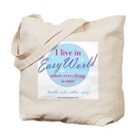 Easy World Tote Bag