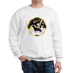NightFlight-German Shep3 Sweatshirt